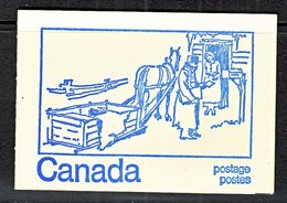 CANADA BOOKLET  EARLY POSTAL  SYSTEM   ** 2  Scans - Full Booklets