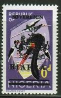 Biafra 1968 6d Definitive Stamp Of Nigeria Overprinted 'Sovereign Biafra'. - Nigeria (1961-...)