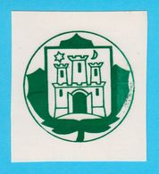 CROATIA Ex YUGOSLAVIA SCOUTS UNION Zagreb Sticker * Scouting Boy Scout Scoutisme Escrutinio Pfadfinder Scoutismo - Padvinderij