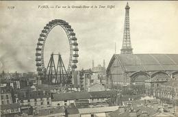 PARIS 7  -- Vue Sur La Grande Roue Et La Tour Eiffel....             -- N D 2339 - Distretto: 07