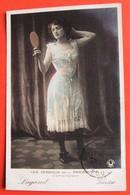Les DESSOUS DE LA PARISIENNE- COMBINAISON  - LUGAND Des VARIETES Artiste  Femme Chapeau - Mode
