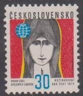 Czechoslovakia Scott 1995 1975 International Women's Year, Mint Never Hinged - Czechoslovakia
