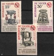 [828165]Niger 1965 - N° 162/64, Téléphones Anciens, Telephone, SC - Niger (1960-...)