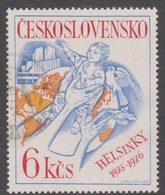 Czechoslovakia Scott 2076 1976 European Security Co-operation Conference, Used - Used Stamps