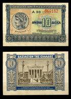 Greece - 10 Drahmas 1940 UNC - Greece