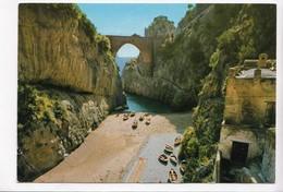 COSTIERA AMALFITANA, Furore - Spiaggia, Italia, 1971 Used Postcard [22826] - Salerno