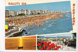 Saluti Da RICCIONE, 1972 Used Postcard [22829] - Rimini