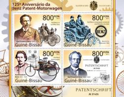 Guinea Bissau 2011 First Patent Of Mercedes-Benz., Automobiles - Guinea-Bissau