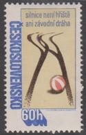 Czechoslovakia Scott 2168 1978 Road Safety, Mint Never Hinged - Czechoslovakia
