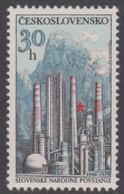 Czechoslovakia Scott 2249 1979 National Uprising 35th Anniversary, Mint Never Hinged - Czechoslovakia