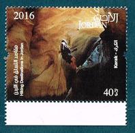 Jordan 2016 Hiking Tourism Karak Cave Climbing MNH - Jordanie