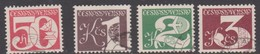 Czechoslovakia Scott 2273-2276 Numerals, Used - Used Stamps