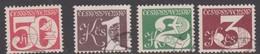 Czechoslovakia Scott 2273-2276 Numerals, Used - Czechoslovakia