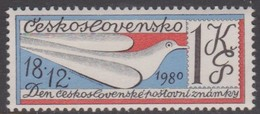 Czechoslovakia Scott 2340 1980 Stamp Day, Mint Never Hinged - Unused Stamps