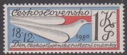 Czechoslovakia Scott 2340 1980 Stamp Day, Mint Never Hinged - Czechoslovakia