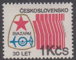 Czechoslovakia Scott 2371 1981 Anniversaries Army Co-operation 30th Anniversary, Mint Never Hinged - Unused Stamps