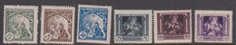 Czechoslovakia Scott B124-129 1919 First Anniversary Independency, Mint  Hinged - Czechoslovakia