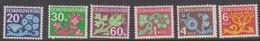 Czechoslovakia Scott J 95-j106 1971 Postage Due, 6 Values, Mint Never Hinged - Czechoslovakia