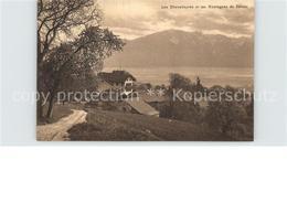 62196612 Vevey VD Les Chevalleyres Et Les Montagnes De Savoie  / Vevey /Bz. Veve - VD Vaud