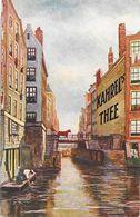 Publicité Pour Le Thé: Kahrel's Thee - Illustration Canaux (Amsterdam?) - Reclame