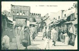 A1 MAROC MAROKKO MOROCCO MARRUECOS  CPA TANGER - RUE DES FRIPIERS - Marrakech