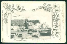 A1 MAROC MAROKKO MOROCCO MARRUECOS  CPA TANGER - DEBARCADERE DE BESTIAUX - Marrakech