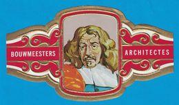 1 BAGUE DE CIGARE GRAND FORMAT BOUWMEESTERS ARCHITECTES JACOB VAN CAMPEN NEDERLAND PAYS BAS  (  119 MM ) - Bagues De Cigares