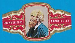 1 BAGUE DE CIGARE GRAND FORMAT BOUWMEESTERS ARCHITECTES P. J. H. CUYPERS NEDERLAND PAYS BAS  (  119 MM ) - Bagues De Cigares