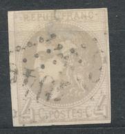 N°41 BORDEAUX NUANCE ET OBLITERATION - 1870 Bordeaux Printing
