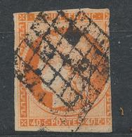 N°5 NUANCE ET OBLITERATION - 1849-1850 Cérès