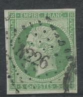 N°12 NUANCE ET OBLITERATION. - 1852 Louis-Napoléon