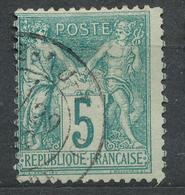 N°64 NUANCE ET OBLITERATION. - 1876-1878 Sage (Type I)