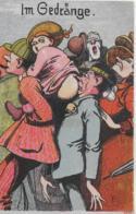 AK 0155  Im Gedränge - Humor-Karte Ca. Um 1920 - Humor