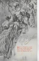 AK 0155  Drob' N Im Himmel Is A Gaudi...  - Münchner Humor-Karte Ca. Um 1906 - Humor