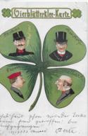 AK 0155  Vierblätterklee-Karte Um 1908 - Humor
