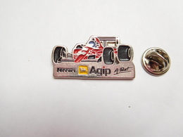 Beau Pin's , Auto F1 , Formule 1 , Ferrari  , Carburant AGIP , Alain Prost - Ferrari