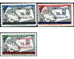 Ref. 351234 * MNH * - PERU. 1977. MAMMALS . MAMIFEROS - Timbres
