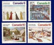 Canada 1974 Christmas Stamp Set (#650 - 653)  MNH ! - 1952-.... Règne D'Elizabeth II