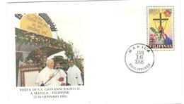 13830 - Visite JEAN PAUL II - Philippines