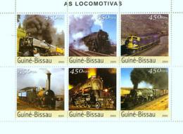 Guinea Bissau 2003 Trains - Guinea-Bissau