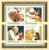 Guinea Bissau 2003 Pope John Paul II - Guinea-Bissau