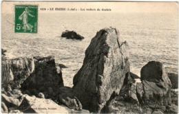 31rb 846 CPA - LE CROISIC - LES ROCHERS DU GAULOIS - Le Croisic