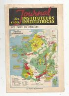 Publicité 4 Pages , JOURNAL DES INSTITUTEURS ET INSTITUTRICES ,1950 , Cartes , 4 Scans, Frais Fr 1.75 E - Publicités