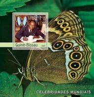 Guinea Bissau 2003  Senghor (butterflies) - Guinea-Bissau