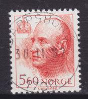 Norway 1992 Mi. 1086    5.60 Kr König King Harald V. Deluxe SARPSBORG - Norwegen
