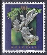 Schweiz Switzerland Helvetia 2000 Religion Christentum Weihnachten Christmas Engel Angels Christbaumschmuck, Mi. 1739 ** - Suisse