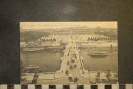 CP, PARIS, PARIS VUE PANORAMIQUE DU PONT ET DE LA PLACE DE LA CONCORDE - Ponts