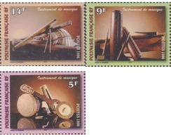 Ref. 585055 * MNH * - FRENCH POLYNESIA. 1996. MUSIC INSTRUMENTS . INSTRUMENTOS MUSICALES - French Polynesia