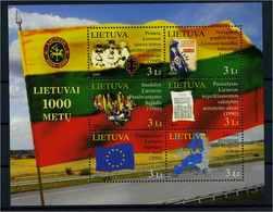 LITAUEN 2009 Bl.39 Postfrisch (105550) - Lituanie