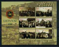 LITAUEN 2008 Bl.36 Postfrisch (105549) - Lituanie